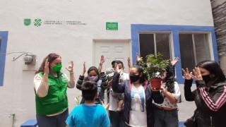 Entrega  Comisión para la Reconstrucción Seis Viviendas en Álvaro Obregón y  Y Gustavo A. Madero
